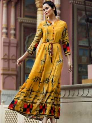 Aakara Eco Vol 6 Kurti Catalogue Wholesale