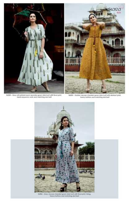 Aakara Eco Vol 6 Kurti Catalogue Wholesale7