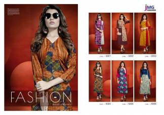 JMG Fashionistaa Blossom Kurtis Catalogue