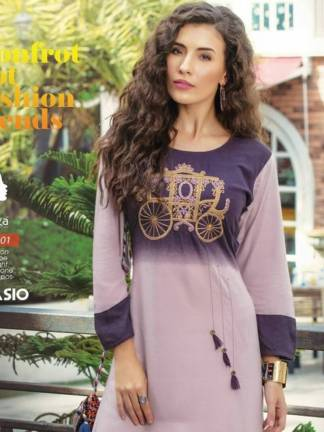 Kaya Casio Kurti Design Catalogue Wholesale (10 Designs)