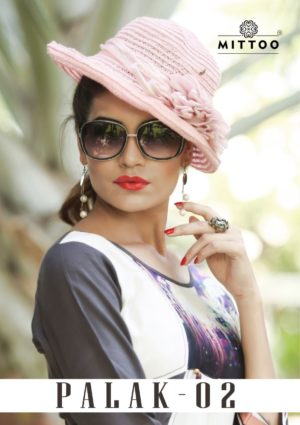 Mittoo Palak -2 Kurti Design Catalog