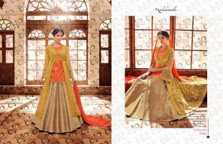 Nakkashi Encore Heavy Designer Party Wear Indo Western Suit (Design 11046)