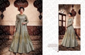 Nakkashi Encore Heavy Designer Party Wear Indo Western Suit (Design 11047)