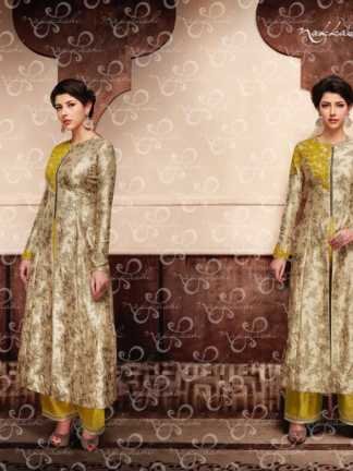 Nakkashi Encore Heavy Designer Party Wear Indo Western Suit (Design 11048)