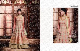 Nakkashi Encore Heavy Designer Party Wear Indo Western Suit (Design 11050)