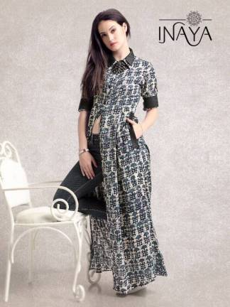 Pure Cotton Rayon Printed Floor Length Maxi Shirt Western Wear Gown Kurti (5)