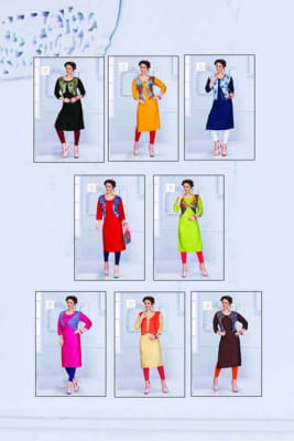 Pushp Creation Gulab-2 Kurti Catalogue Wholesale