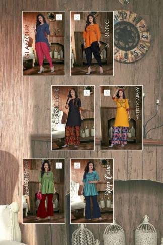 Pushp Creation Hot Lady Kurti Catalogue Wholesale