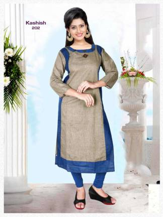 Pushp Creation Kashish-2 Kurti Catalogue Wholesale