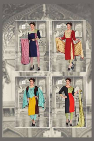 Pushp Creation Melina Kurti Catalogue Wholesale