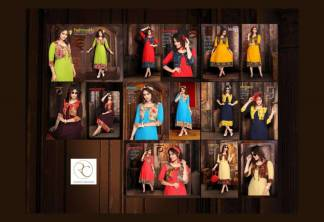 Pushp Creation Mugda Kurti Catalogue Wholesale