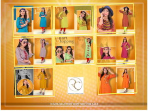 Pushp Creation Navrang Kurti Catalogue Wholesale