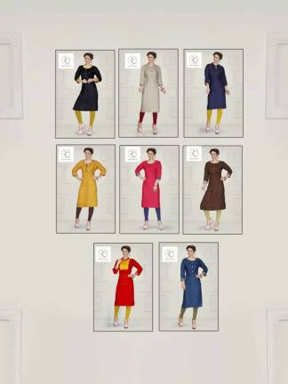 Pushp Creation Plantiks Kurti Catalogue Wholesale