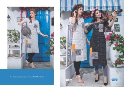 S4U Judwa Rayon Fabric Multicolor Traditional Kurti Catalogue Wholesale Surat (15)