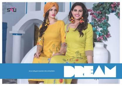 S4U Judwa Rayon Fabric Multicolor Traditional Kurti Catalogue Wholesale Surat (7)