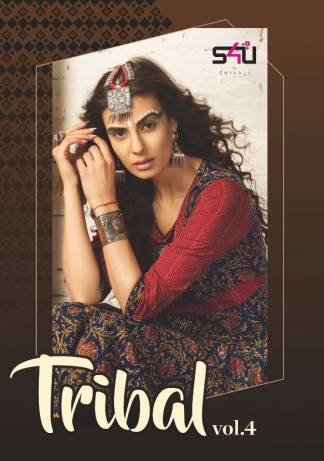 S4U Tribal Vol-4 Stylish Kurti Design Catalogue (11 Designs)