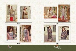Shree Fabs Zara Vol 2 Salwar Suits Catalogue Wholesale