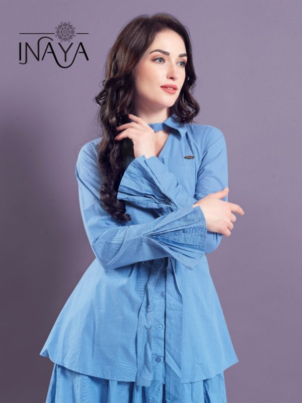 Studio Libas Inaya Layer Shirt K-15 Kurti Western Wear