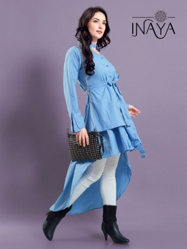 Studio Libas Inaya Layer Shirt K-15 Kurti Western Wear1