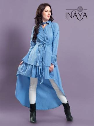 Studio Libas Inaya Layer Shirt K-15 Kurti Western Wear2