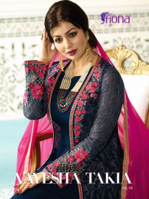 Fiona Ayesha Takia Vol-19 Salwar Suit Catalogue