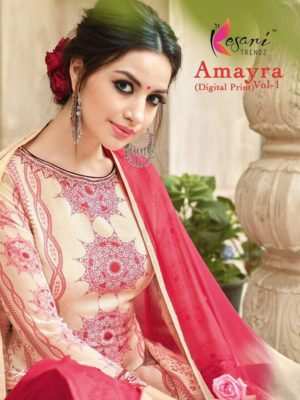 Kesari Trendz Amayra Vol-1 Salwar Suit Catalogue Wholesale