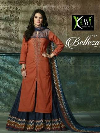 kessi fabrics belleza vol-4 salwar suit catalogue surat wholesale
