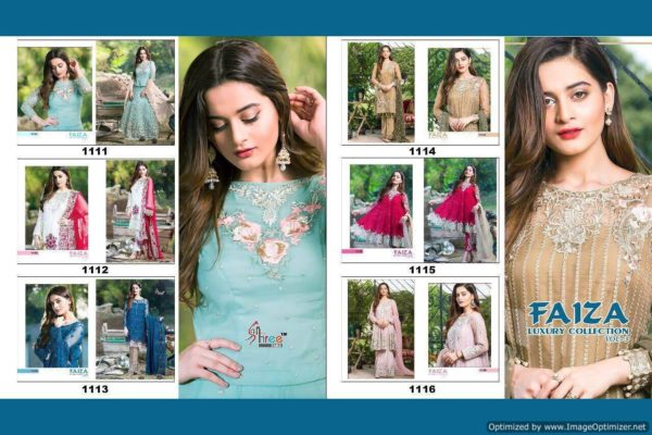 Shree fabs faiza luxury collection vol 3 details