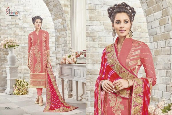 First Choice Vol-18 by Shree Fabs Salwar Suit Full Wholesale Catalogue details 1204
