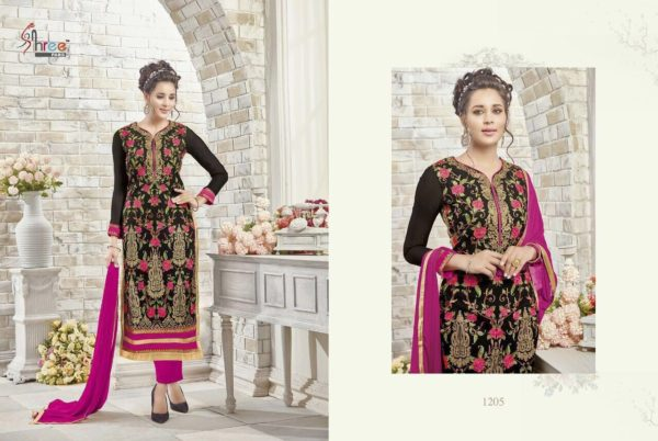 First Choice Vol-18 by Shree Fabs Salwar Suit Full Wholesale Catalogue details 1205