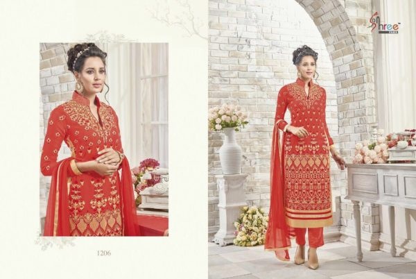 First Choice Vol-18 by Shree Fabs Salwar Suit Full Wholesale Catalogue details 1206