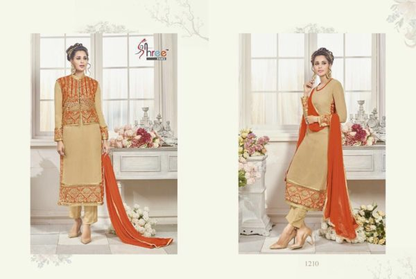 First Choice Vol-18 by Shree Fabs Salwar Suit Full Wholesale Catalogue details 1210