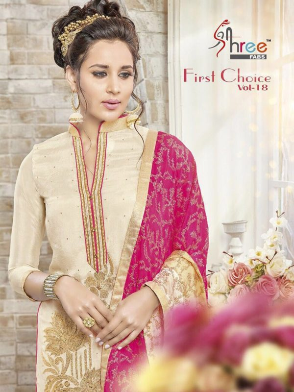 First Choice Vol-18 by Shree Fabs Salwar Suit Full Wholesale Catalogue