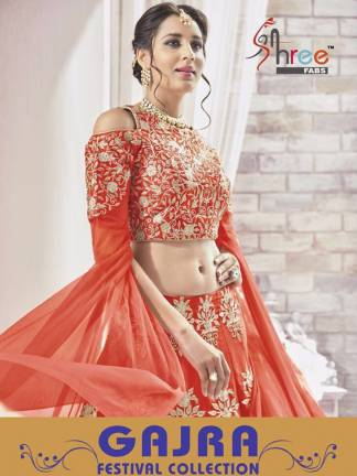 Gajra by Shree Fabs Wholesale Lehenga Collection