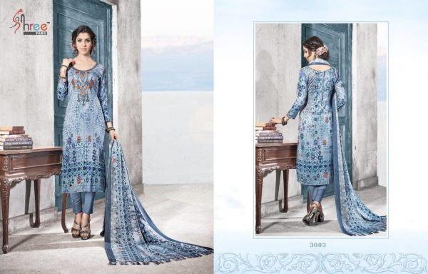 Shree Fabs Gulmohar Winter Shawl Collection Salwar Suit Catalog Full Set Surat Wholesale details 3003