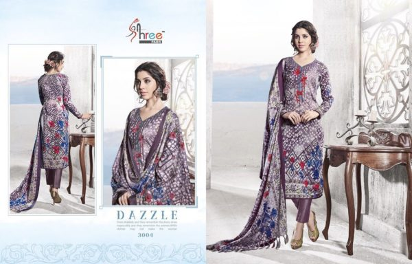 Shree Fabs Gulmohar Winter Shawl Collection Salwar Suit Catalog Full Set Surat Wholesale details 3004