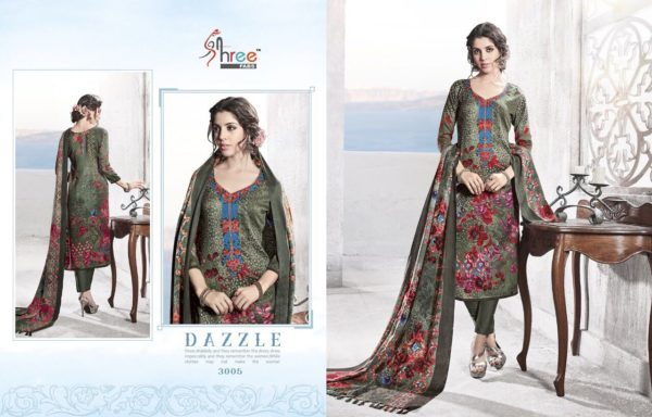 Shree Fabs Gulmohar Winter Shawl Collection Salwar Suit Catalog Full Set Surat Wholesale details 3005