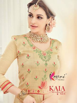 Kesari Trendz Kaia Vol-6 Salwar Suit Full Wholesale Catalogue