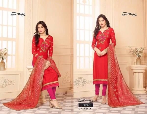Your Choice Laado Salwar Suit Catalogue details 2740