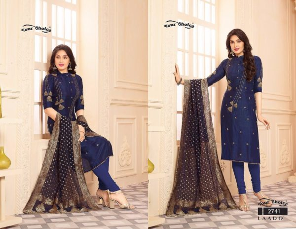 Your Choice Laado Salwar Suit Catalogue details 2741