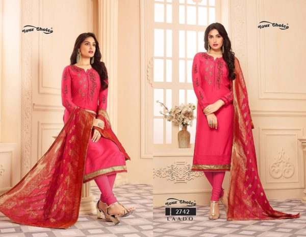 Your Choice Laado Salwar Suit Catalogue details 2742