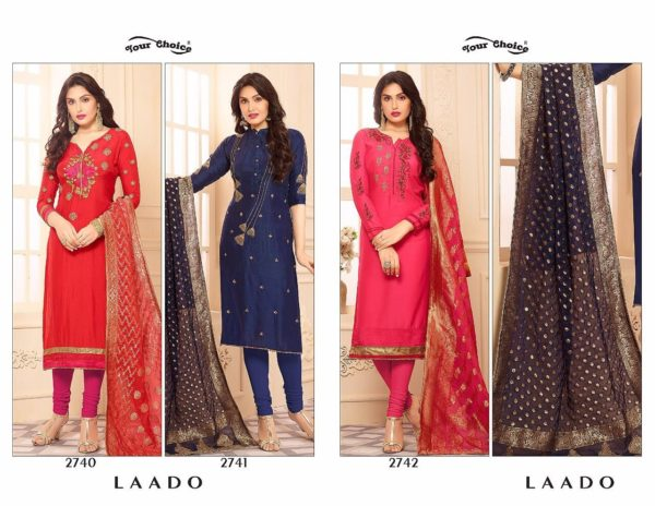 Your Choice Laado Salwar Suit Catalogue details