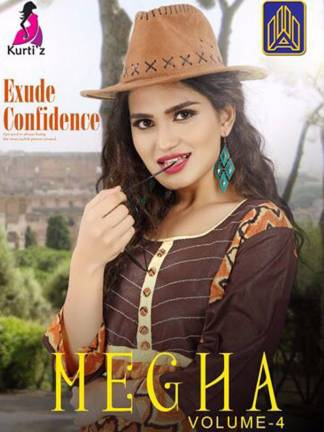 megha vol-4 by kurtiz kurti catalogue surat wholesale