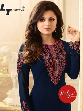 LT Fabrics Nitya 108 Salwar Suit Catalogue