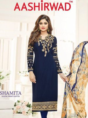 Aashirwad Creation Shamita - Salwar Suit Catalogue Full Set