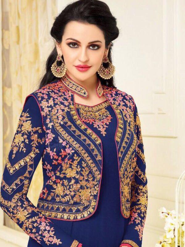 zisa vol-44 by meera trendz - salwar suit catalogue surat wholesale